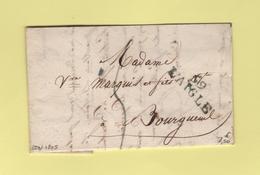 L'Aigle - 59 - Orne - Courrier De 1825 - Marcophilie (Lettres)
