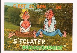 """Alexandre( Non Signé) : """" C'est Si Bon... De S''éclater écologiquement """"  - Ed Lyna Série 861/2 - - Alexandre"""