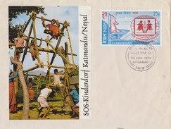 NEPAL 1974 FDC SOS Children´s Village. - Nepal