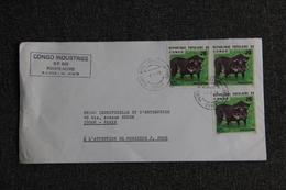 Lettre Envoyée De POINTE NOIRE ( CONGO ) à PARIS - Oblitérés