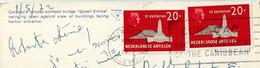 ANTILLES NEERLANDAISES NEDERLANDSE ANTILLEN Sur Carte Postale Entière