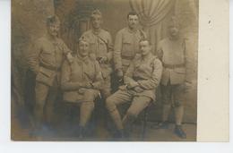 MILITARIA - REGIMENTS - Belle Carte Photo Portrait Militaires De La 3ème Compagnie Du 98ème Régiment D'infanterie - Regimientos