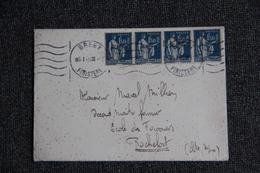 Lettre Envoyée De BREST à ROCHEFORT - Lettres & Documents