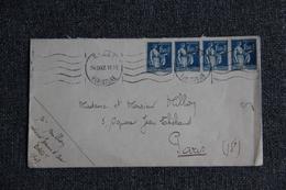 Lettre Envoyée De BREST à  PARIS - Lettres & Documents
