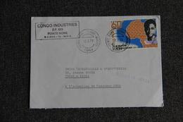 Lettre Envoyée Du CONGO à PARIS - Congo - Brazzaville