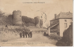 D63 - RUINES DU CHATEAU DE MONTCEL - RESTES D'UN CHATEAU FEODAL DU XIe SIECLE - ENVIRONS DE COMBRONDE - Frankrijk