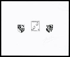 N°954, Dauphiné En épreuve De Décomposition, B      Qualité: (*) - Epreuves D'artistes