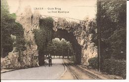 LAKEN: Oude Brug - Le Pont Rustique (ingekleurde Versie) - Laeken