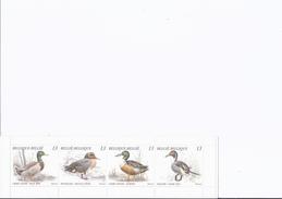 1 Carnet Canards 1989 + 1 Feuillet 2004 (Semaine De La Forêt)+ 1 Feuillet Guinée équatoriale 1978 + 1 Feuilt Bélize 1980 - Vogels
