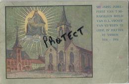 LEDE :  500 Jarig Jubelfeest ................  (  Geschreven 1914  Met Zegel ) - Lede