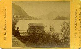 Photo  - CDV - Vue Du Rhin Prise De Rolandseck: 1881 - Foto