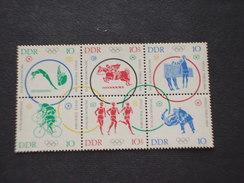 GERMANIA - DDR - 1964 OLIMPIADI TOKYO  6 VALORI - NUOVI(++) - [6] République Démocratique
