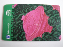 1 GPT Phonecard From Fiji Islands - Handicrafts - 21FJC (0)