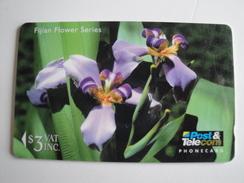 1 GPT Phonecard From Fiji Islands - Flowers - 12FJB (0)