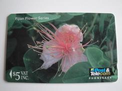 1 GPT Phonecard From Fiji Islands - Flowers - 12FJC (0)