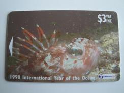 1 GPT Phonecard From Fiji Islands - Undersea Life - 24FIB (0)