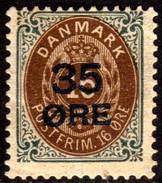 10468 Dinamarca 62 Numeral Com Sobrecarga N