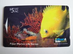 1 GPT Phonecard From Fiji Islands - Undersea Life - 10FJC (0)