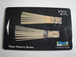 1 GPT Phonecard From Fiji Islands - History - 06FJB (0)