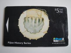 1 GPT Phonecard From Fiji Islands - History - 06FJC (0)