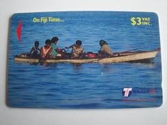 1 GPT Phonecard From Fiji Islands - On Fiji Time - 29FJB (0)