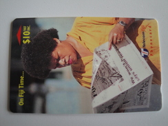 1 GPT Phonecard From Fiji Islands - On Fiji Time - 29FJD (0)