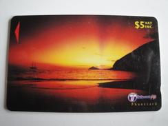 1 GPT Phonecard From Fiji Islands - Sunset - 32FJC (0)