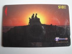 1 GPT Phonecard From Fiji Islands - Sunset - 32FJD (0/)