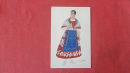 Signed-- Spanish Costumes  Murica =====>ref 2564 - Europe