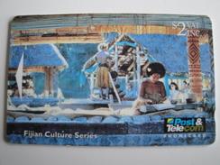 1 GPT Phonecard From Fiji Islands - Culture - 07FJA (0)
