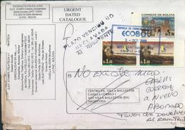 Bolivia 2000 CEFIBOL 1652, 1711.  La Paz A V. Ballester. Devuelta. See Desc. - Bolivia