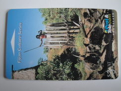 1 GPT Phonecard From Fiji Islands - Culture - 07FJB (0)