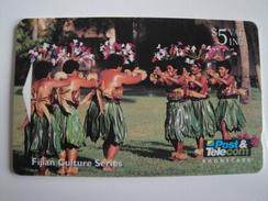 1 GPT Phonecard From Fiji Islands - Culture - 07FJC (0)