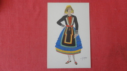 Signed-- Spanish Costumes -- New Castile=====>ref 2564 - Europe