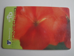 1 GPT Phonecard From Fiji Islands - Flowers - 22FJD (0)