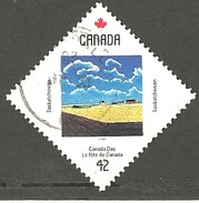 Sc. # 1425 Canada Day, Saskatchewan Single Used 1992 K074