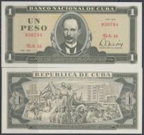 1979-BK-100 CUBA 1979. 1$ JOSE MARTI. UNC. - Cuba