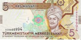 Turkmenistan - Pick 30 - 5 Manat 2012 - Unc - Turkménistan