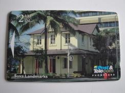 1 GPT Phonecard From Fiji Islands - Suva Landmarks - 11FJA (0/)