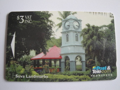 1 GPT Phonecard From Fiji Islands - Suva Landmarks - 11FJB (0/)