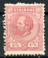 Surinam, Suriname, 1875, King Willem III, Unused No Gum, Michel 7 - Surinam