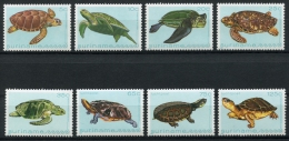 Surinam, Suriname, 1982, Turtles, Tortoises, Animals, Fauna, MNH, Michel 970-977 - Surinam