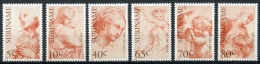Surinam, Suriname, 1983, Raffael, Painter, MNH, Michel 1026-1031 - Surinam