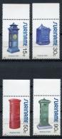Surinam, Suriname, 1985, Mail Boxes, Postal Boxes, MNH, Michel 1150-1153 - Surinam