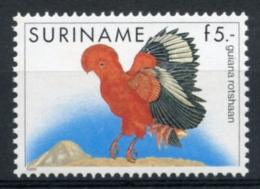 Surinam, Suriname, 1986, Birds, Animals, Fauna, MNH, Michel 1165 - Surinam