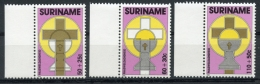 Surinam, Suriname, 1988, Easter, MNH, Michel 1261-1263 - Surinam