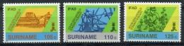 Surinam, Suriname, 1988, IFAD, International Fund For Agricultural Development, MNH, Michel 1271-1273 - Surinam