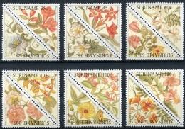 Surinam, Suriname, 1990, Blossoms, Flowers, Flora, MNH, Michel 1335-1346 - Suriname