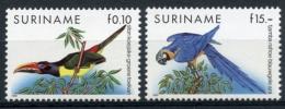 Surinam, Suriname, 1991, Birds, Fauna, MNH, Michel 1356-1357 - Surinam