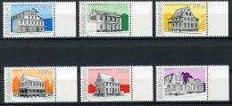 Surinam, Suriname, 1991, Buildings, Architecture, MNH, Michel 1365-1370 - Surinam